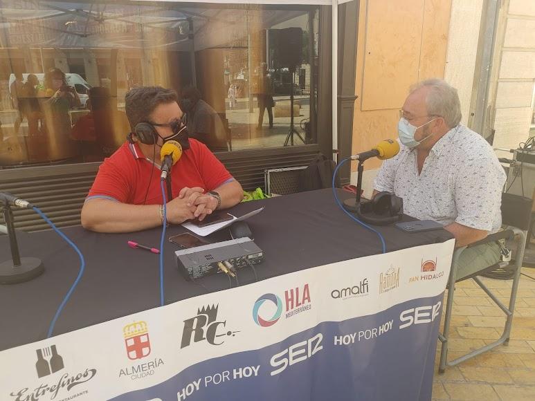 El presidente del CSIF de Almería, Juan Fernández