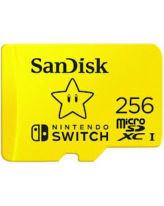 SanDisk 256GB MicroSDXC 100MB/s UHS-I Memory Card for Nintendo Switch