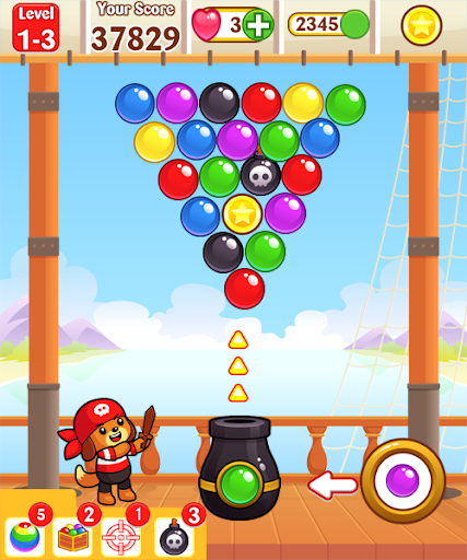 Bubble Shooter games free:kids