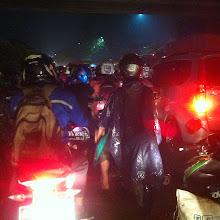 Photo: Llegando a Yakarta...