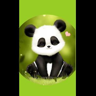 Sleepy Panda Wallpaper HD - náhled