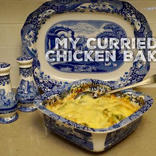 My Curried Chicken Bake