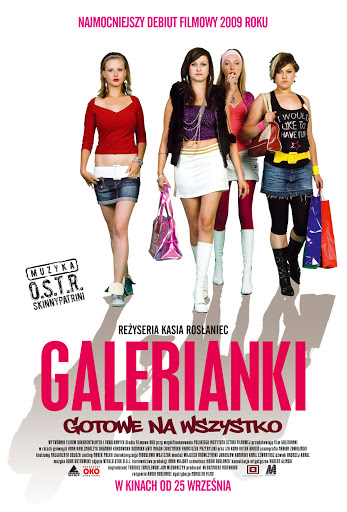 Polski plakat filmu 'Galerianki'
