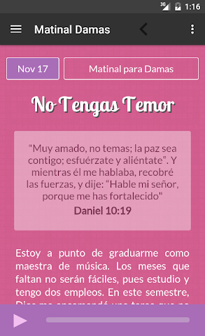 android Ministerio 7Day (App Oficial) Screenshot 5