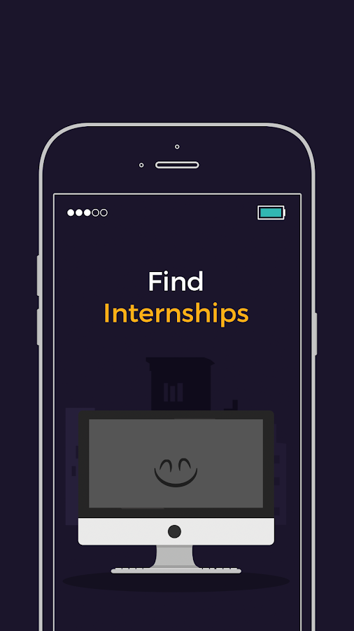 Student Internships & Offers- screenshot