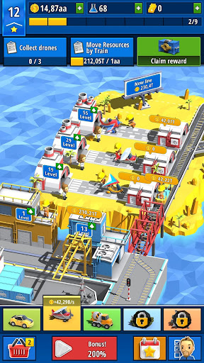 Idle Inventor - Factory Tycoon 0.3.4 screenshots 2