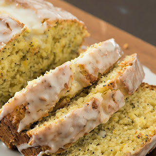 Lemon Poppy Seed Squash Loaf