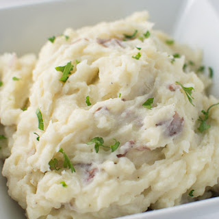 Truffled Garlic Red Mashed Potatoes