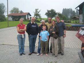 Photo: Bernd's family outside of Fussen