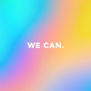 We Can Rainbow - Instagram Post Template