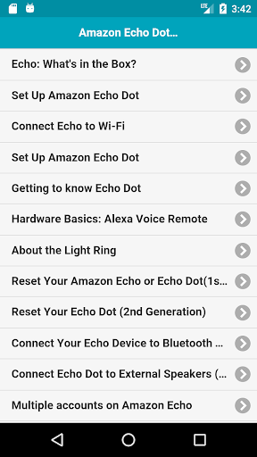 User Guide for Amazon Echo Dot 1.0.1 screenshots 1