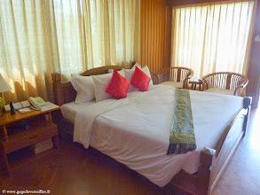Photo: #017-Monywa, le Win Unity Resort. La chambre.