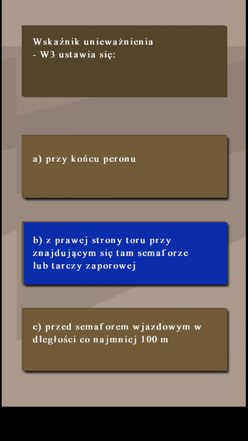 Quiz Kolejowy po polsku- screenshot