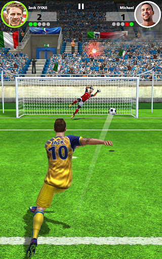Football Strike - Multiplayer Soccer  captures d'écran 6