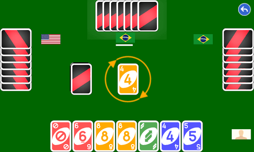Color number card game: uno 1.1.7 gameplay | by HackJr.Pw 1