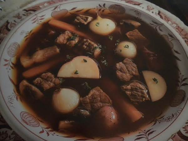 Beef Stew In Red Wine Recipe