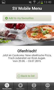 Mobile Menu screenshot 4