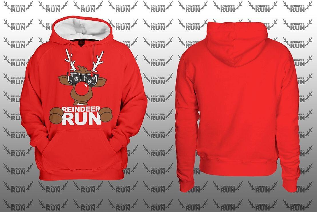 Optional CRW Reindeer Run Varsity Hoodie