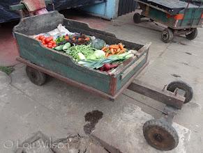Photo: Veggie Door to Door Cart Matale Sri Lanka