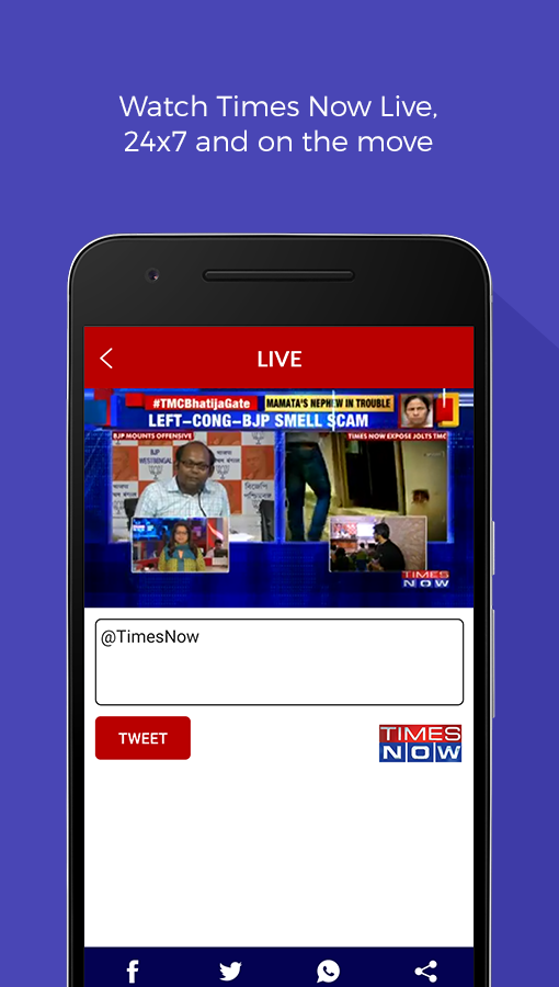 Times Now - English News App- screenshot