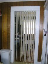 Photo: streamers in the door
