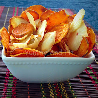 Baked Root Vegetable Chips