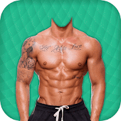Body Builder Photo Suit Editor