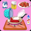 Jeux de cuisine fraises à la crème APK