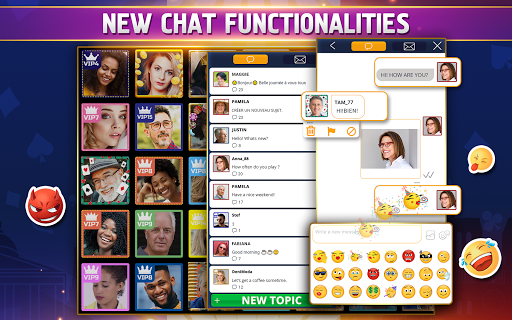VIP Belote - French Belote Online Multiplayer 3.6.36 screenshots 11