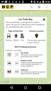 NCP Car Park Finder- screenshot thumbnail