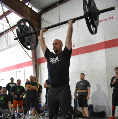 Longtime BDJ Fitness Client Matt Seibenmorgen competing in Arkansas Strongest Man Competition