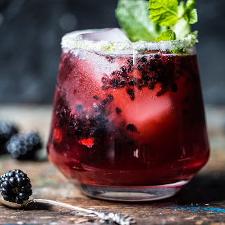 Blackberry Bourbon Smash. Recipe