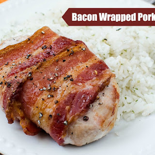 Bacon Wrapped Pork Chops.