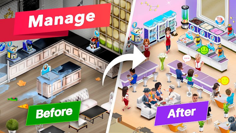 My Cafe — Restaurant game Screenshot 10
