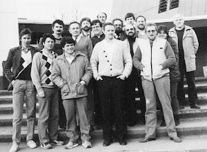 Photo: Mon. 1 Course in U.L. March '83
