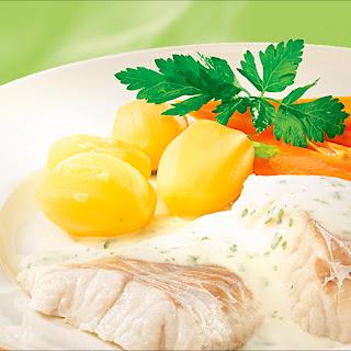 Joghurt-Petersiliensauce z.B. zu Fisch