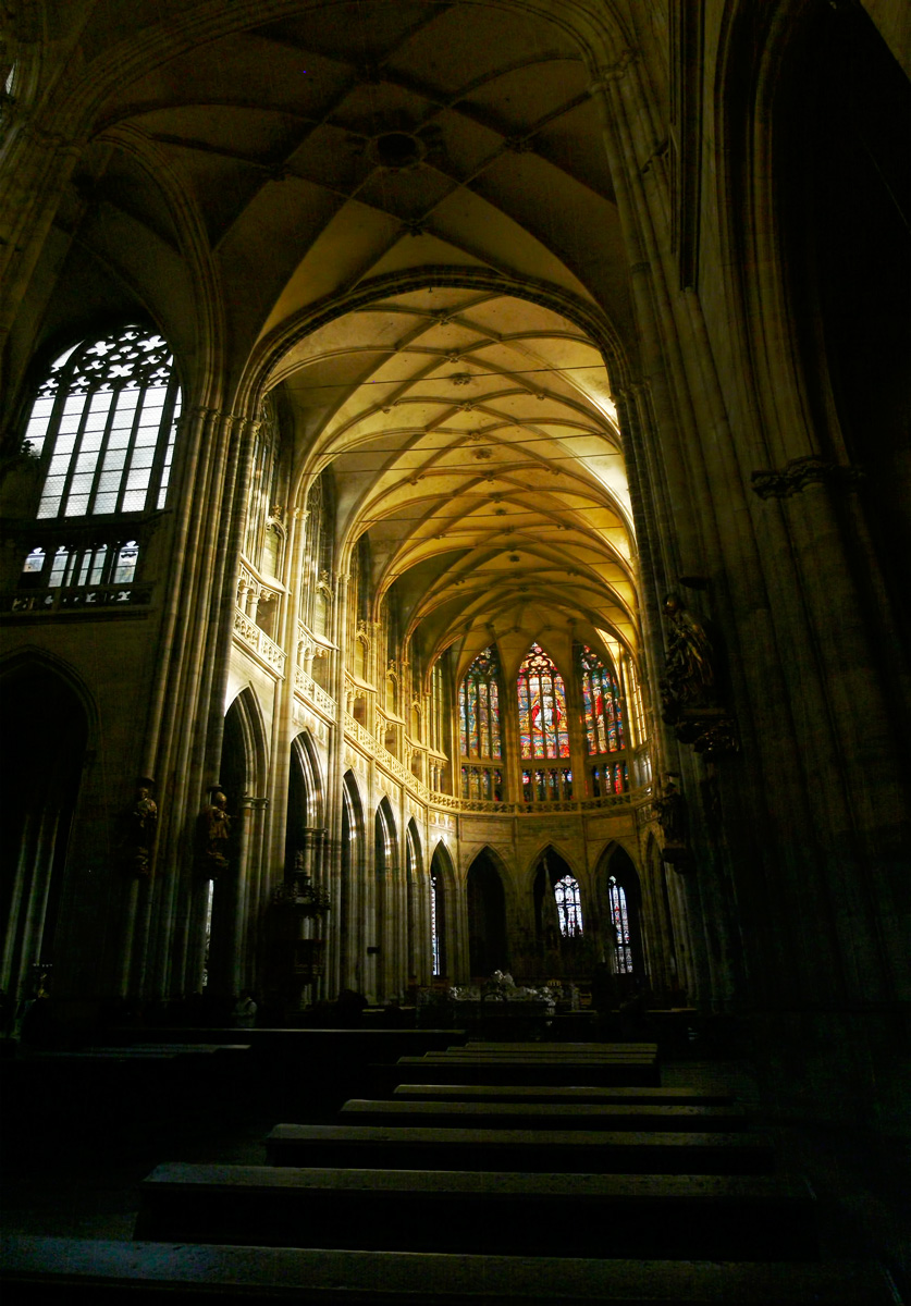 Photo: St. Vitus Cathedral Inside-- February 2008