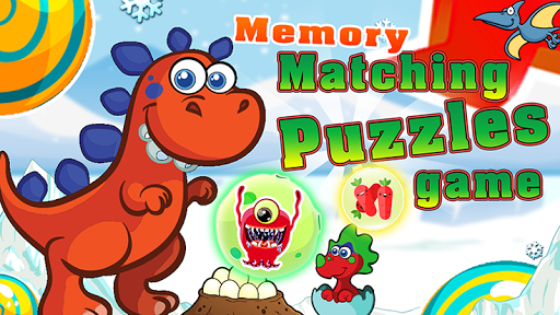 Matching cards memory match images dinosaur puzzle for PC