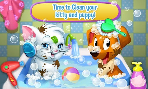 Pet Wash & Play - kids games - náhled