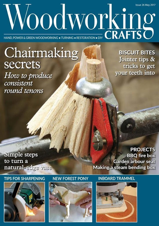 Woodworking Crafts Magazine- screenshot