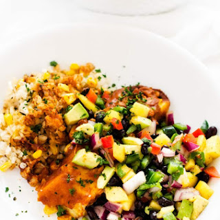 Black Bean Mango & Avocado Salsa