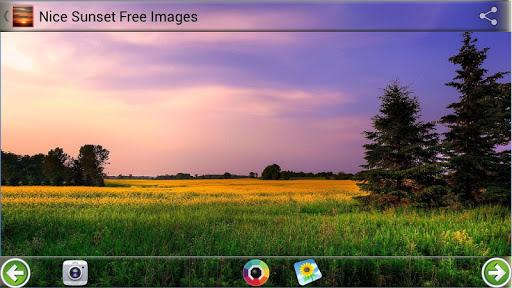 漂亮的日落免费图片