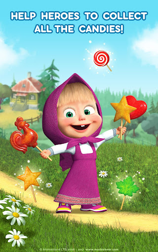 Masha and the Bear: Climb Racing and Car Games 0.0.3 screenshots 13