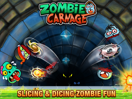 Zombie Carnage - Slice and Smash Zombies apkpoly screenshots 10