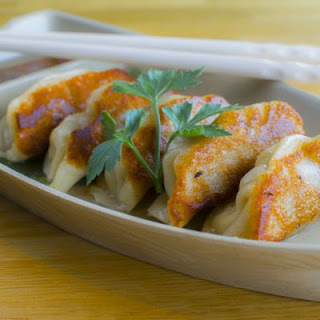 Copycat TGI Friday's Pan-Seared Pot Stickers
