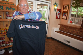 Photo: Back of shirt - packin Heat since 62 El Pinto Restaurant