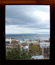 Photo: We met our group at the Magellan Straits, seen from Hotel Cabo de Hornos in Punta Arenas.