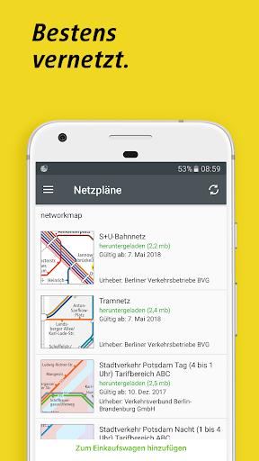 BVG Fahrinfo Berlin 6.7.2 (104) screenshots 5