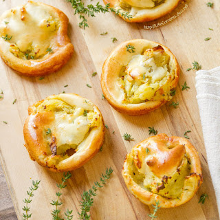 Savory Mashed Potato Puffs.