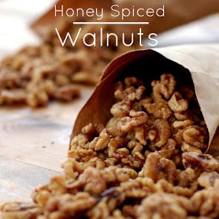 Honey Spiced Walnuts